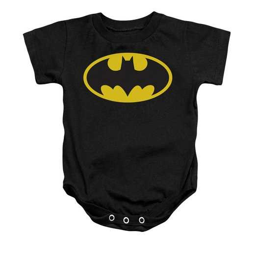 Baby Black Snapsuit