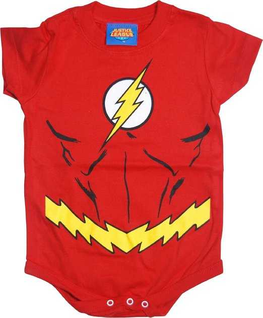 Red Snapsuit Infant Onesie