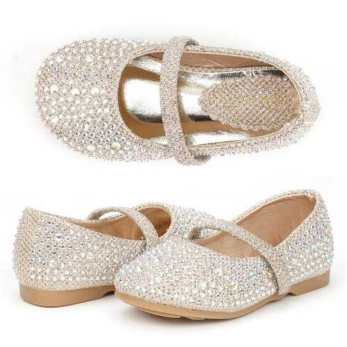 flats are perfect for dress-up parties