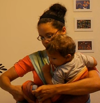 hip carry method for baby