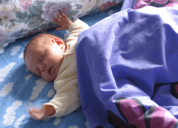 you may need to stop co-sleeping with baby