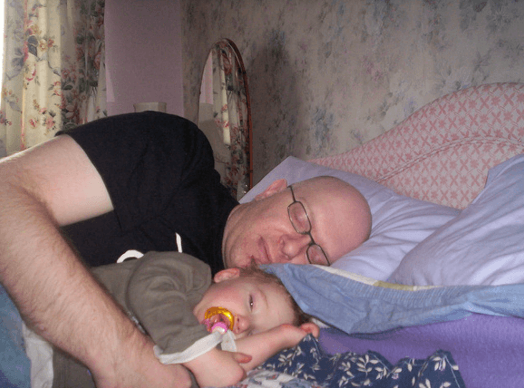 how to stop co sleeping with baby