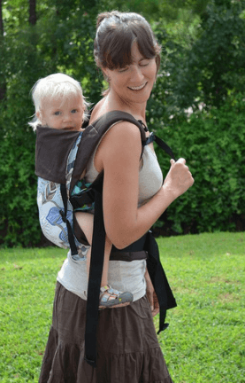 how to use baby carrier