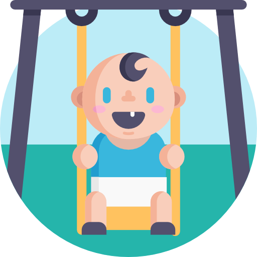 free standing outdoor swing